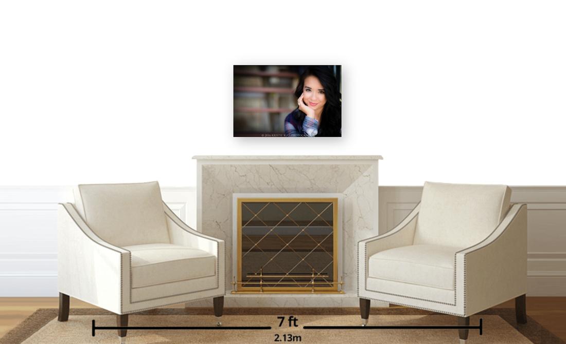 16x24 E-Panel in Sitting area