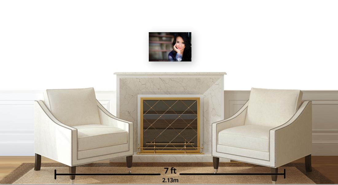 11x16 E-Panel in Sitting area