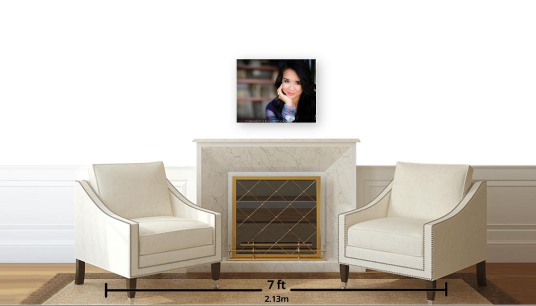 16 x 20 E-Panel in Sitting area